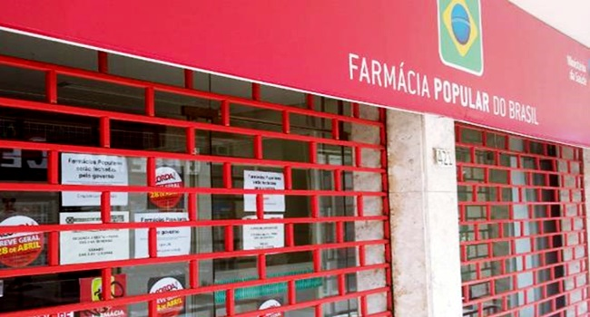 temer fechar todas farmácia popular do brasil