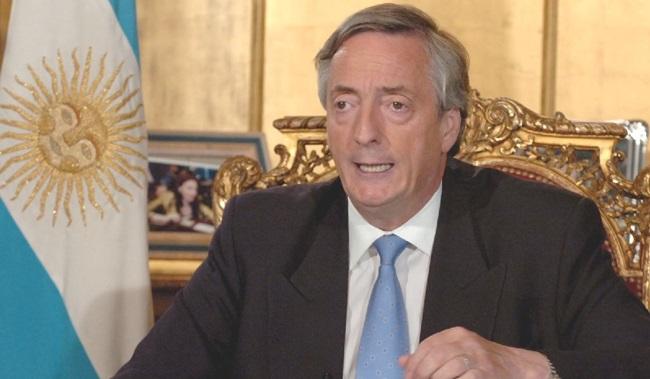 morre presidente argentina nestor Kirchner