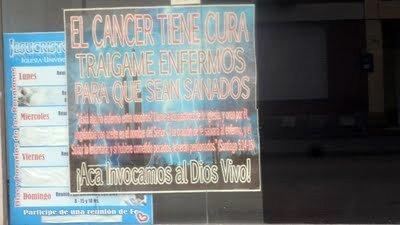 cura câncer igreja universal