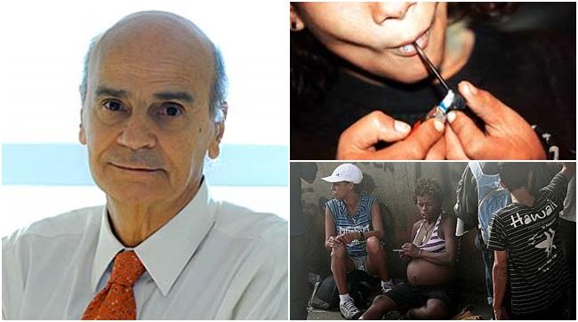hipocrisia para lidar com drogas Drauzio drogas dependência crack legalização cracolândia saúde
