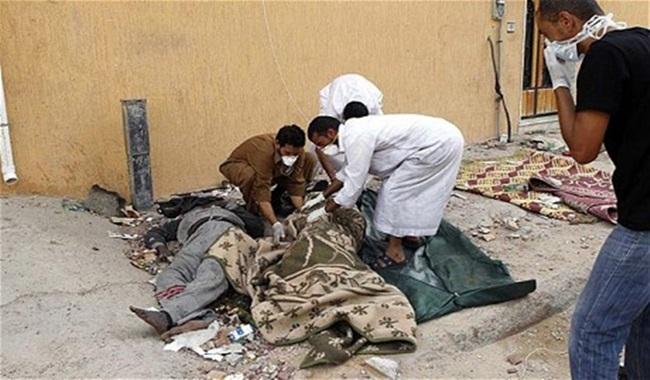 apoiadores kadafi libia encontrados guerra