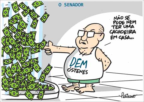 transformou Demóstenes Torres em autoridade ética corrupto DEM mídia