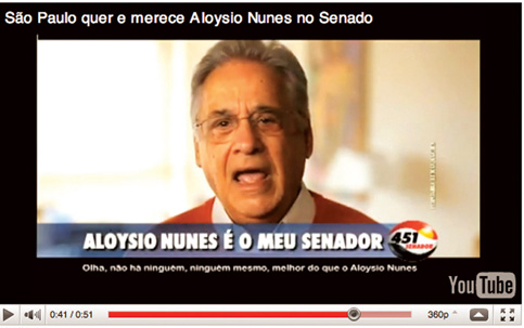 FHC alfineta Lula campanha eleições 2012