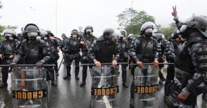 ditadura sobrevive nos quartéis choque pm