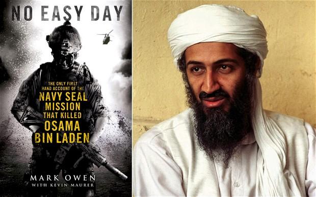 Bin Laden morreu desarmado e com tiro na cabeça livro