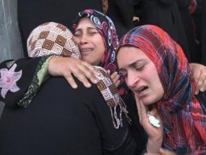 mulheres gaza
