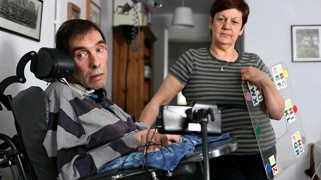 tony Pedido de eutanásia a homem paralisado até o pescoço