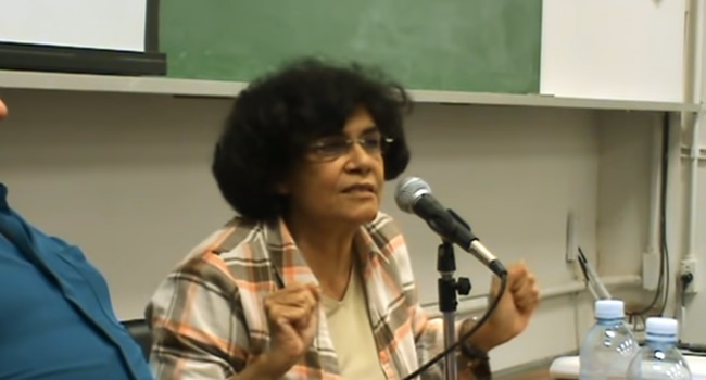 Marilena Chauí debate classe média paulistana é sinistra