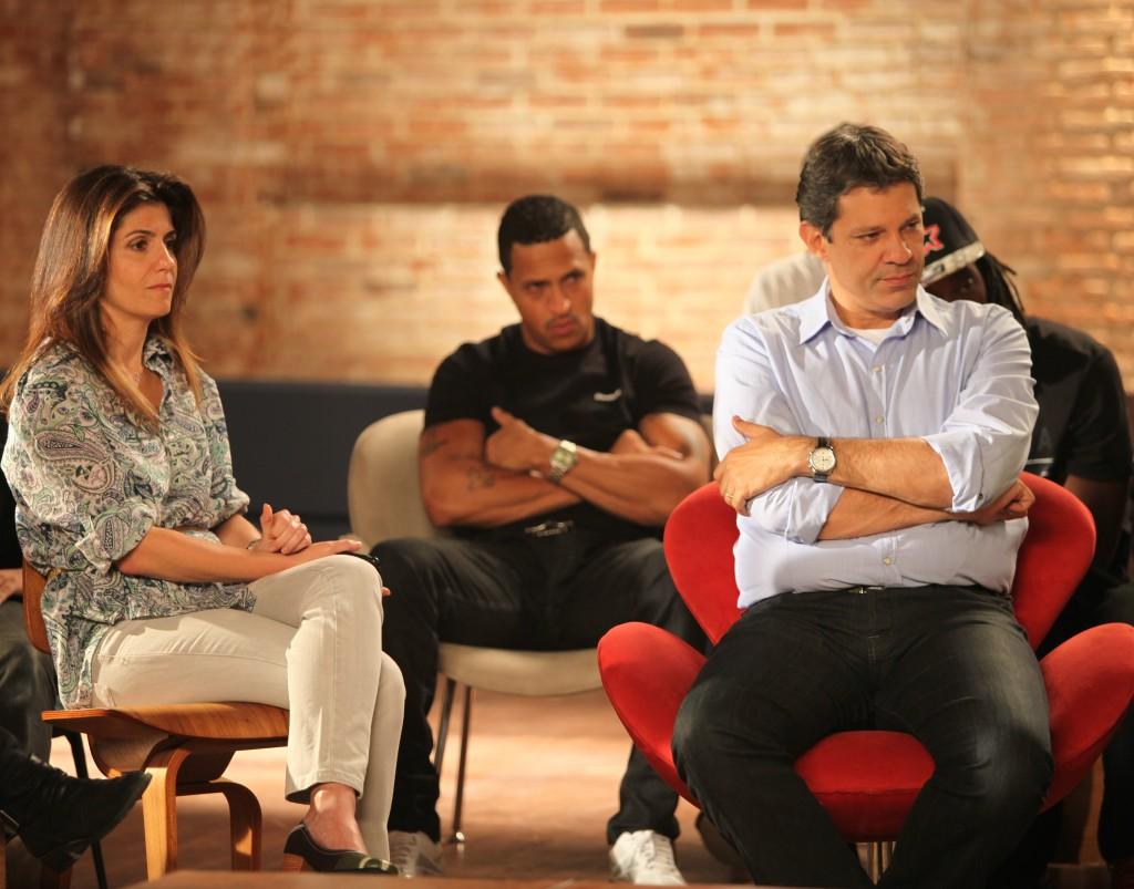 artistas Mano Brown em programa de Haddad encontro