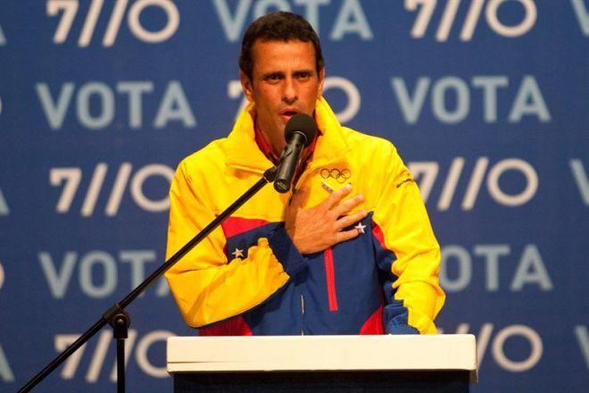 capriles eleição venezuela chávez