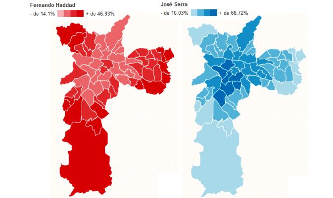 eleitorado sp haddad serra mapa