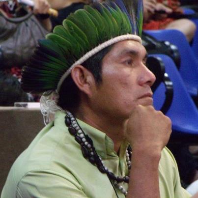 cacique guarani kaiowá