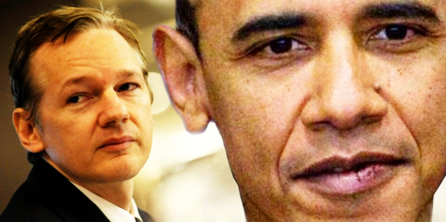 assange wikileaks obama
