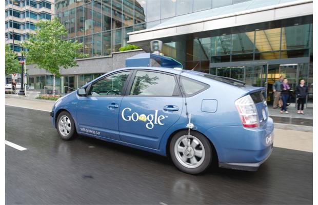 robô google carro