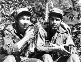 raúl Castro che Guevara