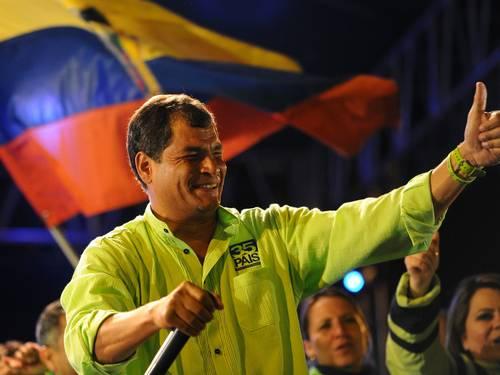 rafael correa equador