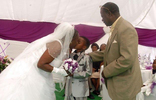 casamento áfrica sul menino 8 anos