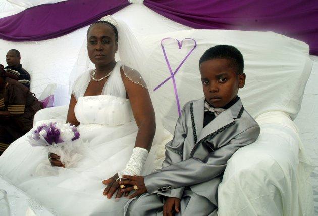 casamento menino 8 anos áfrica