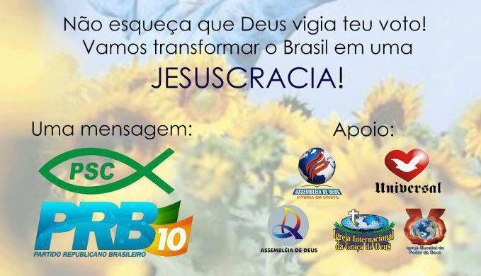 jesuscracia banner psc prb