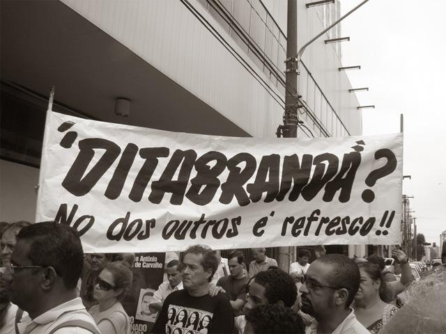 ditabranda folha ditadura militar brasil
