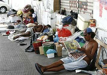 moradores de rua Goiânia Goiás esquadrão da morte