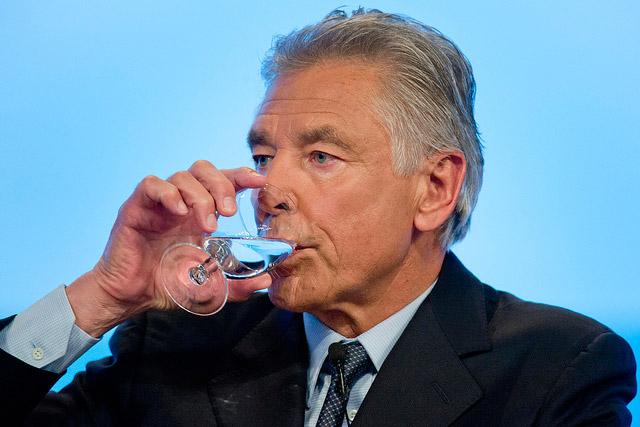 presidente Nestlé defende privatização da água