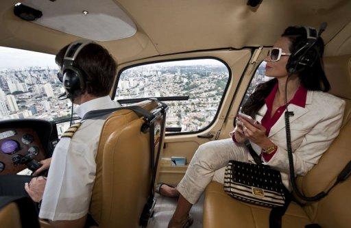 ricos helicóptero são paulo