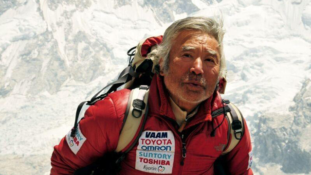alpinista japonês monte everest