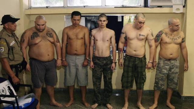 neonazistas presos