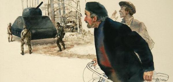 segunda guerra pintura