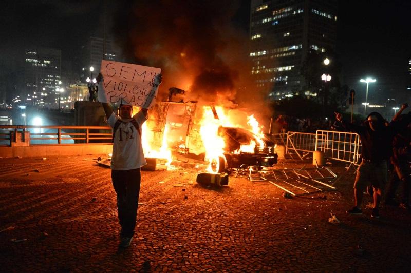 PM permitiu a depredação prefeitura são paulo record