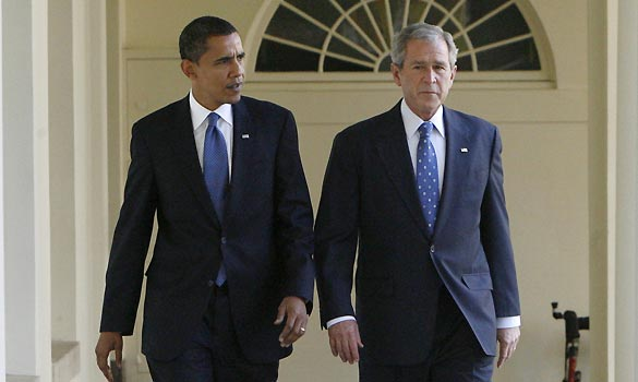 bush obama espionagem eua