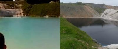 lagoa azul tóxica