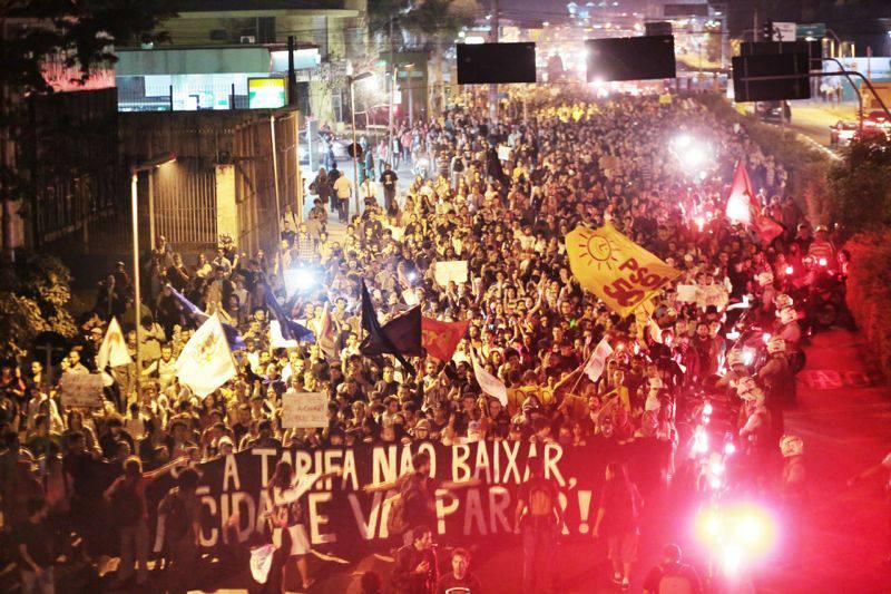 manifestantes jovens passa livre sp