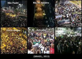 manifestações brasil intelectuais