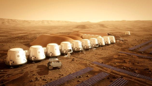 humana à Marte mars one