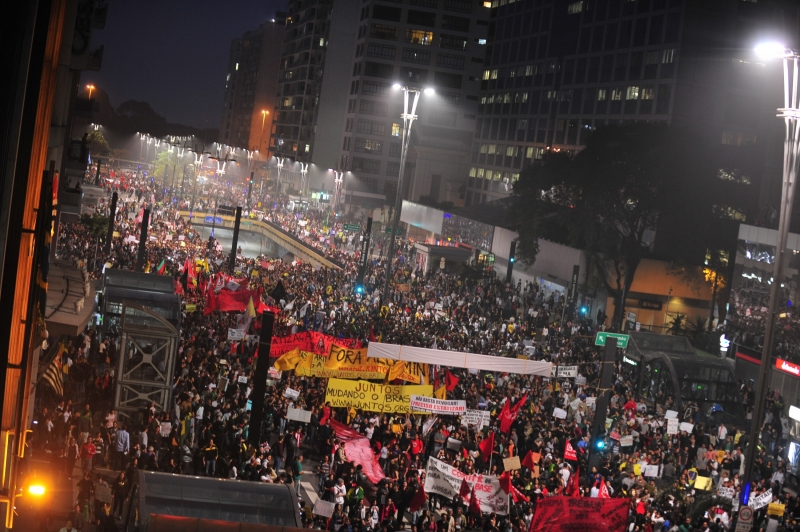 protesto avenida paulista são paulo