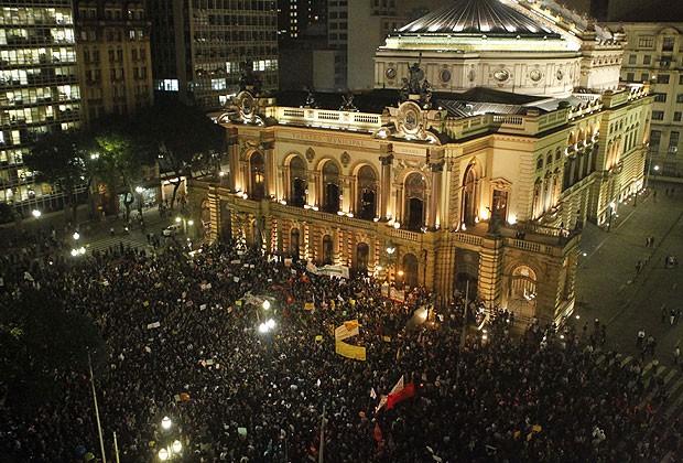 protestos são paulo