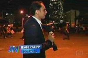 repórter globo protestos sp