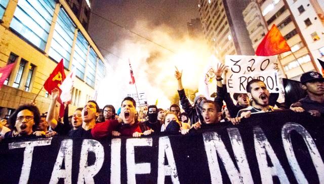 redução de tarifas sp onda de protestos