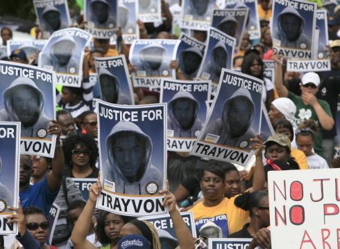 trayvon martin eua negro