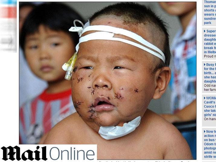 bebê china 90 tesouradas