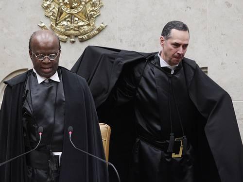 Joaquim Barbosa abandona plenário barroso stf mensalão