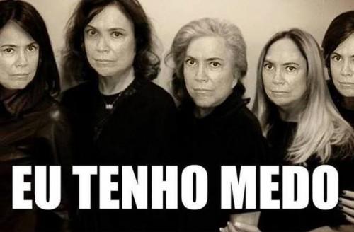 atrizes globo luto brasil