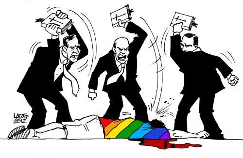 gays armário homofobia