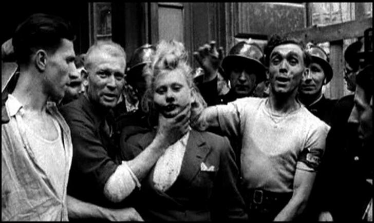 triste fim das viúvas da ocupação alemanha