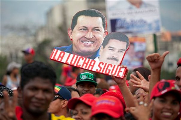 chávez maduro venezuela