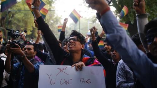 gays índia criminaliza homossexual