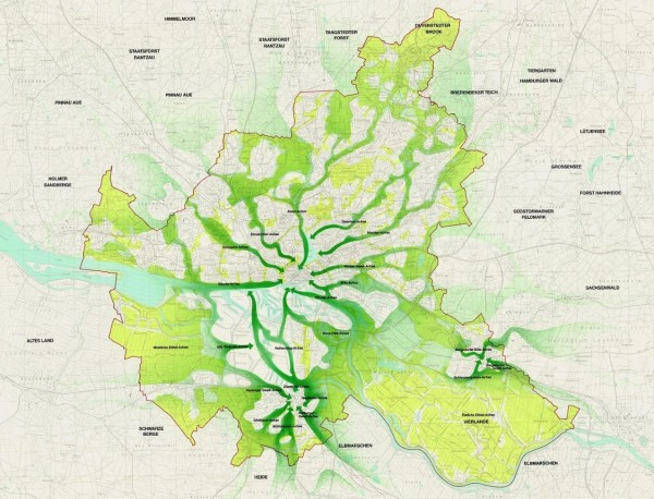 hamburgo alemanha ciclovias mobilidade urbana