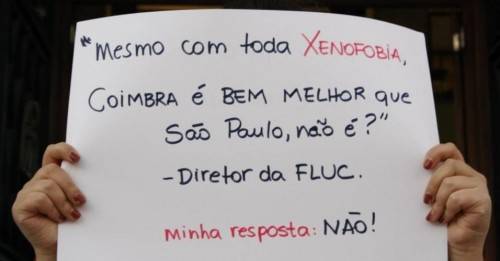 xenofobia brasileiros portugal coimbra